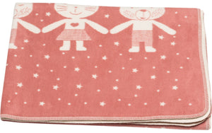 Maja friends blanket - pink