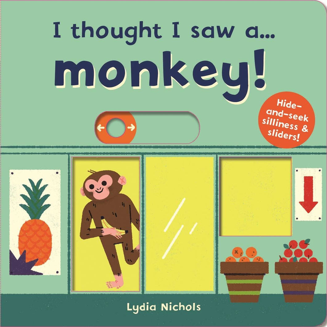 I thought I saw a monkey book