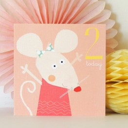 Age two mouse card