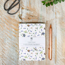 Load image into Gallery viewer, Wildflower meadows pure lined pocket notebook (A6)