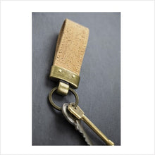 Load image into Gallery viewer, Cork key fob