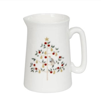 Partridge in a pear tree Xmas jug - small