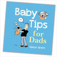 Load image into Gallery viewer, Baby tips for Dads book