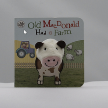 Load image into Gallery viewer, Old Macdonald finger puppet book
