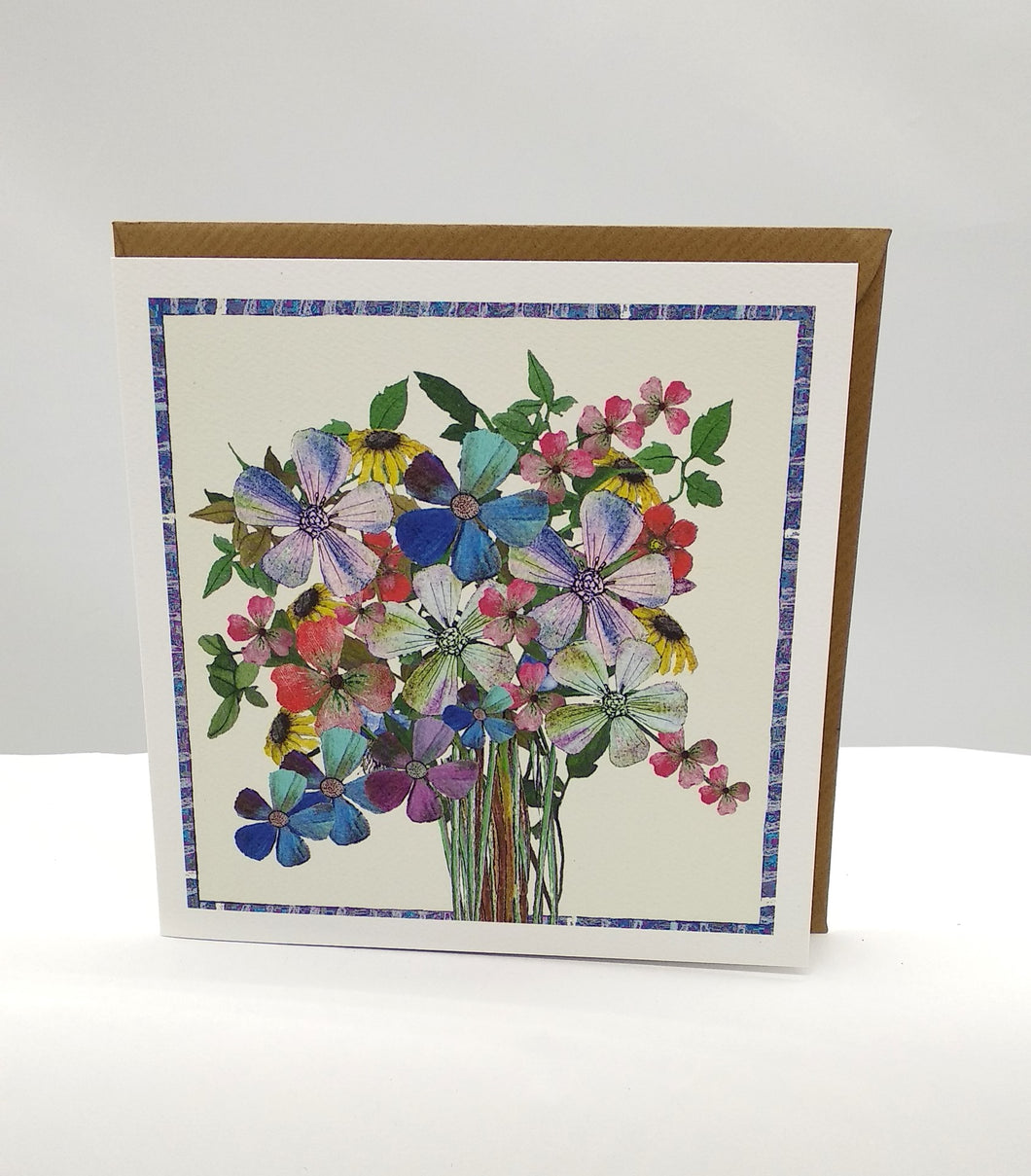 Pretty Flowers card