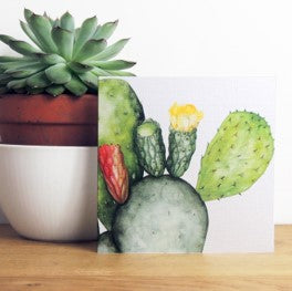 Prickly pear card