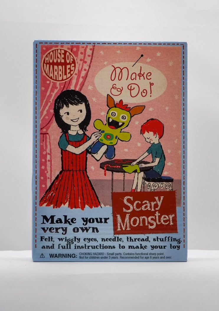 Make your own scary monster
