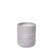 Load image into Gallery viewer, Scented candle - sandalwood myrrh - small