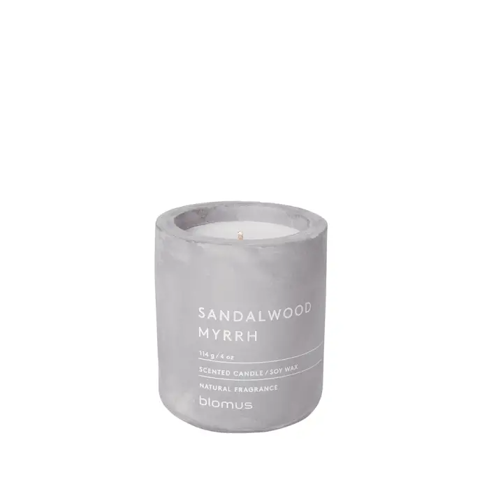 Scented candle - sandalwood myrrh - small
