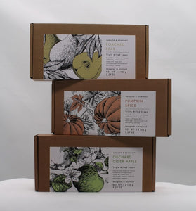 Poached Pear soap set (3 soaps)