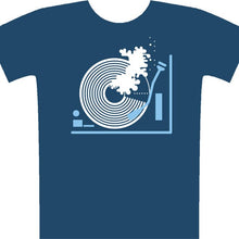 Load image into Gallery viewer, Sound wave (denim) t-shirt