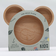 Load image into Gallery viewer, The bear plate - wood