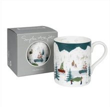 Load image into Gallery viewer, Tis the season/home for Xmas mug - large
