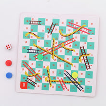 Load image into Gallery viewer, Travel snakes & ladders game
