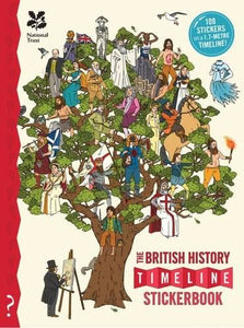 What on earth:  British history timeline stickerbook