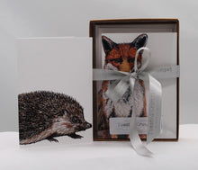 Load image into Gallery viewer, Boxed set 8 Woodland Creatures notecards