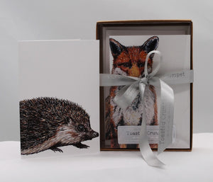 Boxed set 8 Woodland Creatures notecards