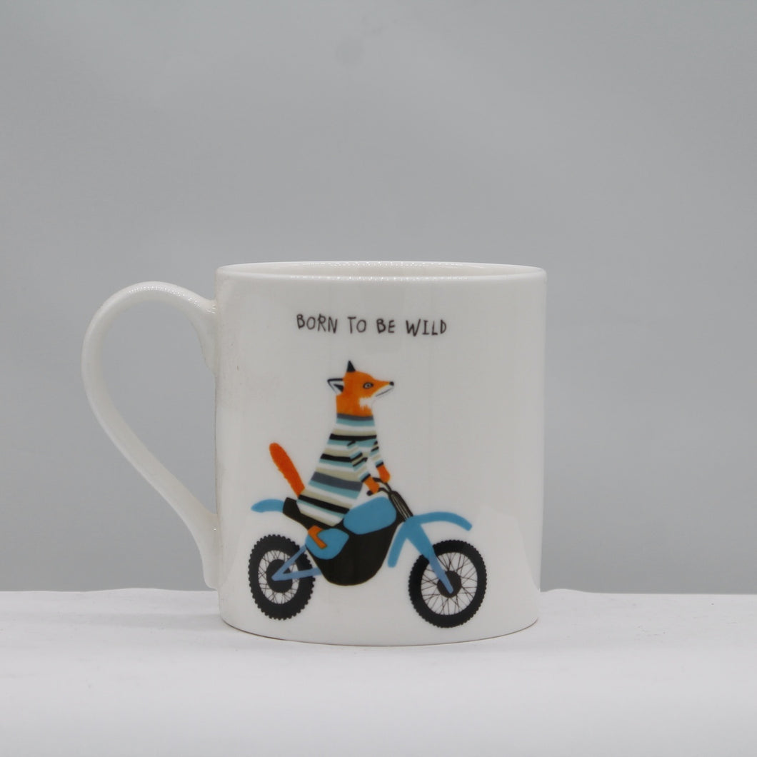 Born to be wild mug
