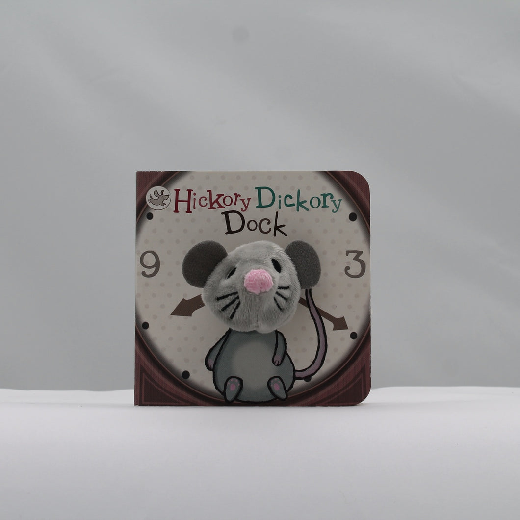 Hickory dickory dock finger puppet book