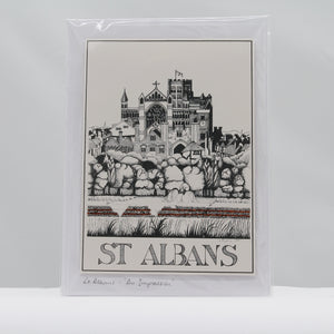 St Albans - an impression card