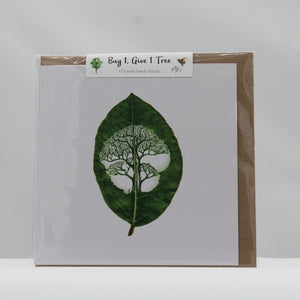 Leaf moments tree card