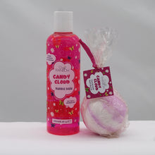 Load image into Gallery viewer, Candy cloud bath bomb