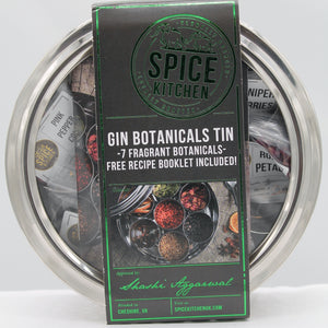 Gin botanicals tin