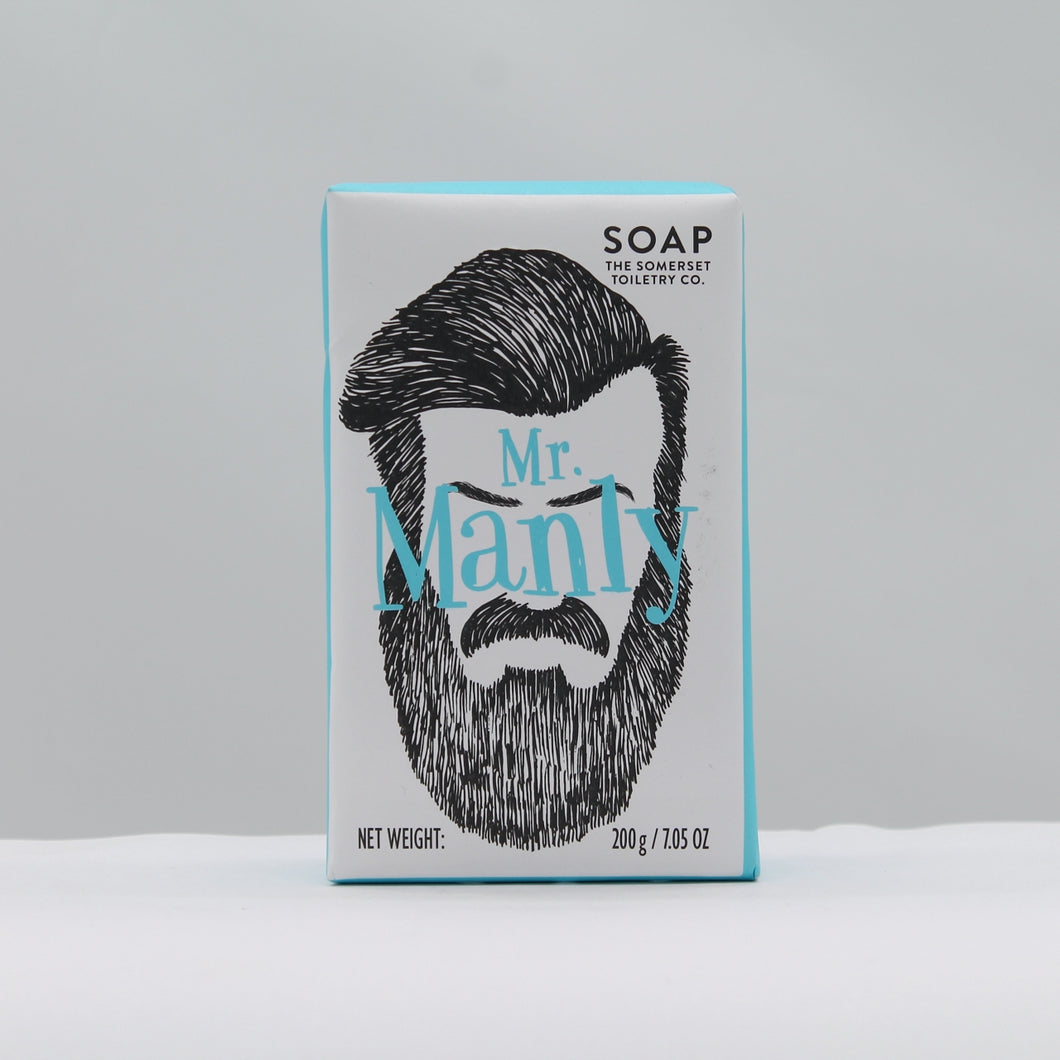 Mr Manly soap - sage