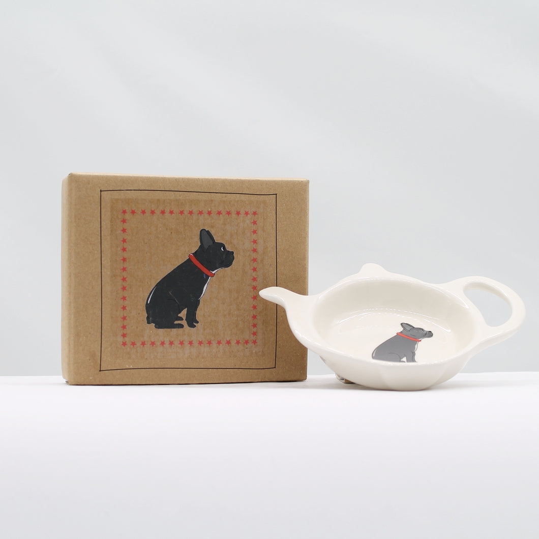 Teabag dish - French bulldog * OOS