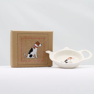 Teabag dish - Jack russell