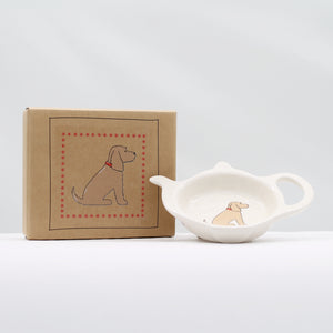 Teabag dish - Golden Cocker Spaniel