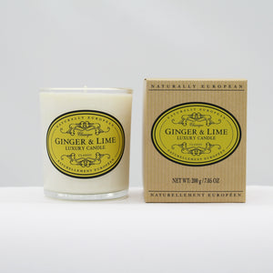 Ginger & lime candle
