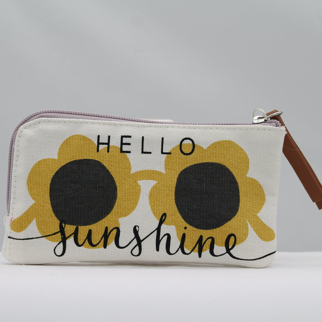 Hello Sunshine Glasses Pouch