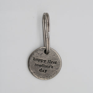 Happy 1st Mothers Day keyring