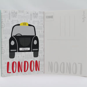 London Adventures Notebooks A6 Set of 3 - Recycled Kraft
