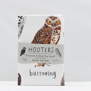 Hooters tea towel