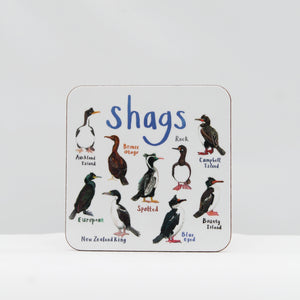 Shags coaster