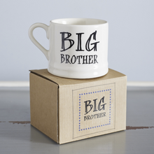Load image into Gallery viewer, Family baby mug - big brother