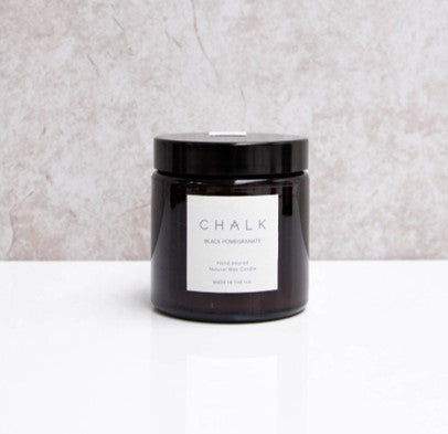Natural candle - black pomegranate
