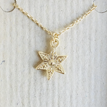 Load image into Gallery viewer, Boho star necklace