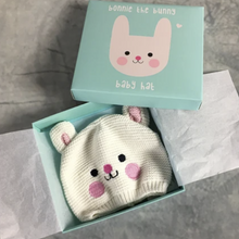 Load image into Gallery viewer, Bonnie the bunny baby hat