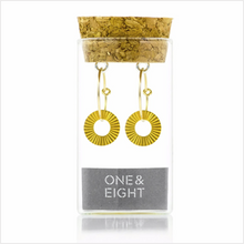 Load image into Gallery viewer, Gold surfside earrings
