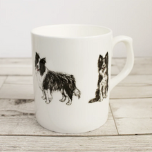 Load image into Gallery viewer, Border collie mug