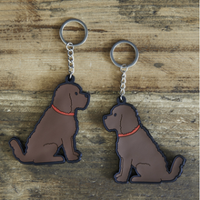 Load image into Gallery viewer, Cockapoo keyring