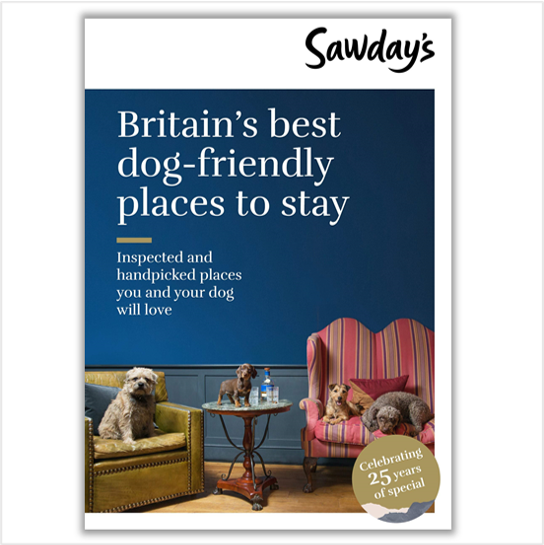 Britain's best dog friendly places to stay book