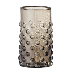 Freja drinking glass - brown