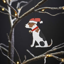 Load image into Gallery viewer, Xmas dec - Jack Russell