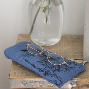 Glasses case - garden design (various colours available)