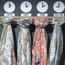 Load image into Gallery viewer, London streets scarf