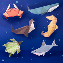 Load image into Gallery viewer, Create your own giant ocean origami